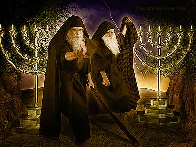 The Two Witnesses will appear soon!!
